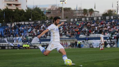 Granero entrato in Marbella quest'anno e spera di sicuro promozione.