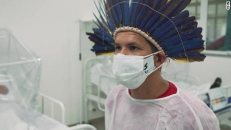 Miqueias Moreira Kokama lost his father to coronavirus and then had to lead his community.