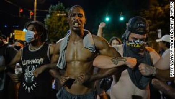 Protests across America after George Floyd's death