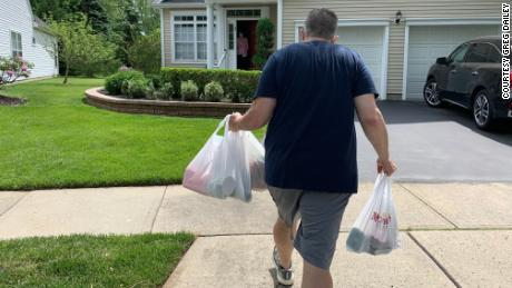 For the last six months, Greg Dailey has been a lifeline for 140 senior citizens who live on his route.