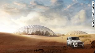 Architects have designed a Martian city for the desert outside Dubai