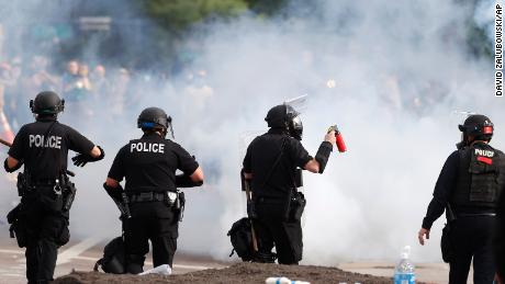 Temporary restraining order prohibits Denver Police from using chemical agents without supervisor approval