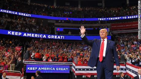 Президент Трамп объявляет о планах митинга в Талсе на следующей неделе