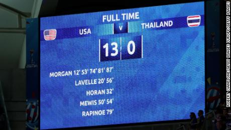 13-0: The scoreline that shook the 2019 Women's World Cup