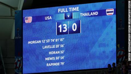 13-0: Il risultato che ha scosso il 2019 Donne's World Cup