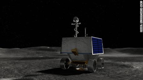 ภาพประกอบของ Volatiles ของ NASA ในการตรวจสอบ Polar Exploration Rover (VIPER)