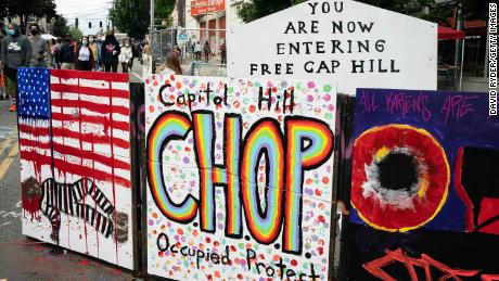 Protesters have occupied part of Seattle's Capitol Hill for a week. Here's what it's like inside