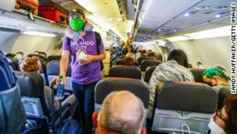 Woman may have caught coronavirus in airplane toilet, researchers say