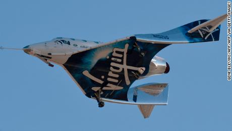 Virgin Galactic unexpectedly tests flight of space plane