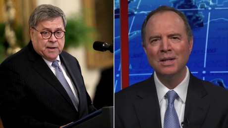 Schiff accuses Barr of giving election intelligence