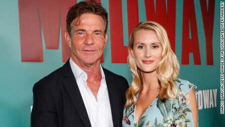 Dennis Quaid says 39-year age difference with new wife 'just doesn't come up'