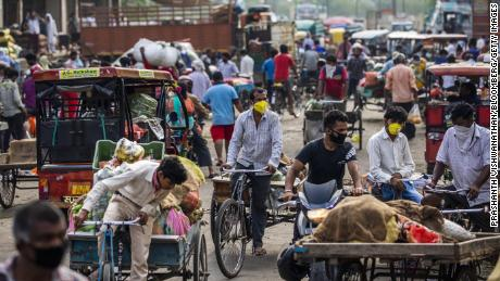 Coronavirus studies show that nearly one in four people in India's capital have contracted the virus.