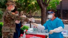 US surpasses record of new coronavirus cases in one day