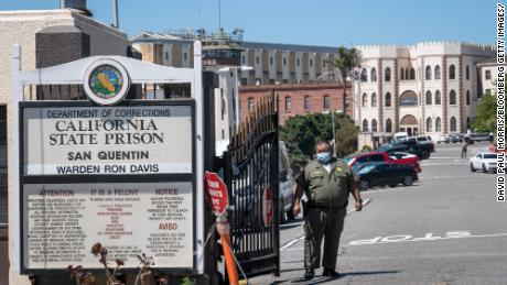 The bomber, who was found dead from coronavirus. Almost half of the cases in the prisons of California in the same facility