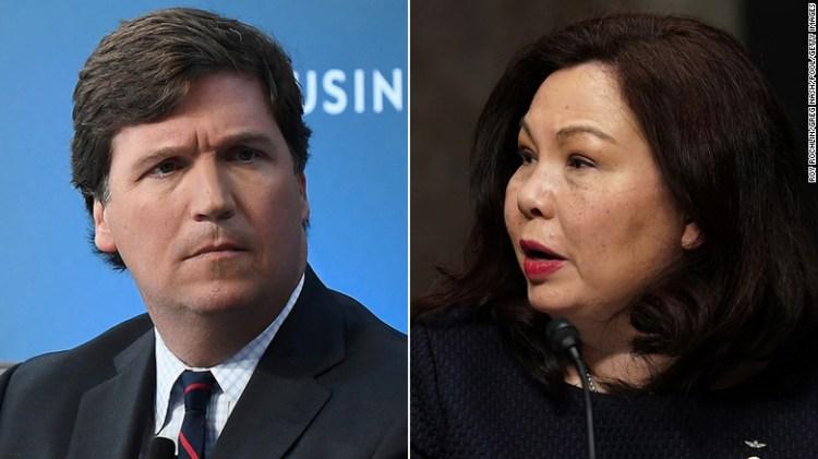 Analysis: Tucker Carlson's attempt to smear Sen. Tammy ...