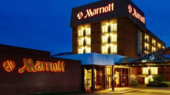 Use your Marriott elite status to earn more points at properties like the Heathrow/Windsor Marriott Hotel in the United Kingdom.