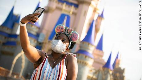 Disney World and Disneyland to again require masks indoors