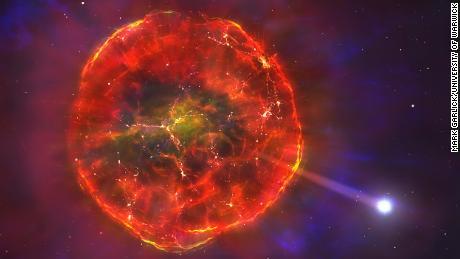 Unusual supernova sent this star speeding across our galaxy