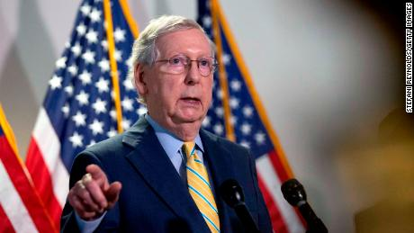 McConnell says he is not worried about Trump's part;  About Postal Service