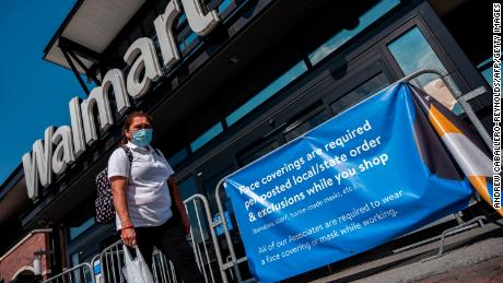 Walmart And Others Will Still Serve Customers Who Refuse To Wear Masks Despite New Rules Cnn