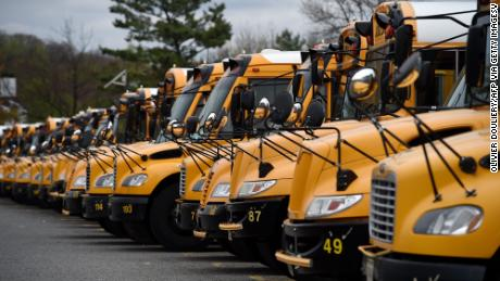 Kovid-19 means that many school bus riders may not have a seat