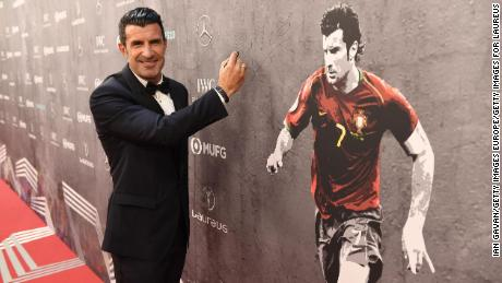 Luis Figo on Cristiano Ronaldo at Juve and the situation at Barcelona