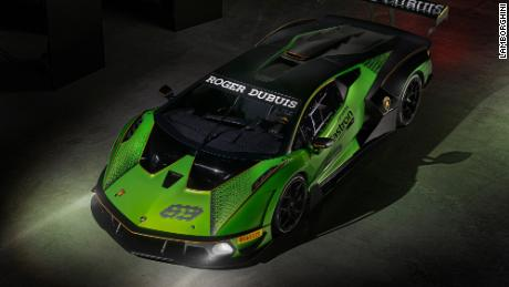 Owners of the Lamborghini Essenza SCV 12 will only be able to drive their cars on closed tracks.