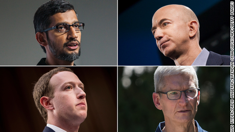 House lawmakers introduce Big Tech bills that could break up Amazon, Google and others