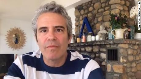 Andy Cohen said he has 'strong' Kovid-19 antibodies, but cannot donate plasma because he is gay