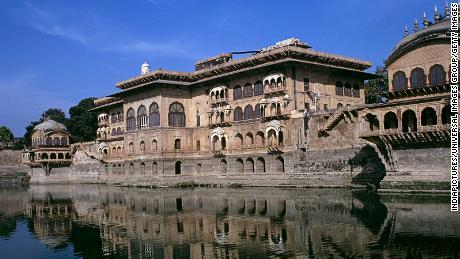 Deeg Palace in Bharatpur district, Rajasthan, India.
