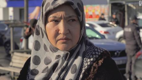 Uyghur exile Gulbakhar Jalilova who says she suffered sexual abuse while being held in detention centers in Xinjiang.