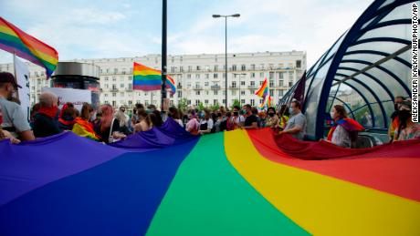 EU blocks funding for six towns that declared themselves 'LGBT-Free Zones'