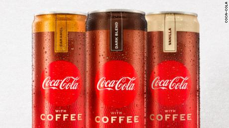 Coffee with Coke will debut in US stores in January.