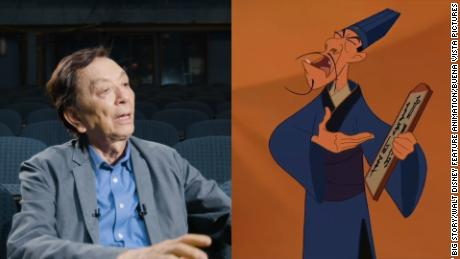 Hong was the voice of Chi-Fu, the Disney antagonist