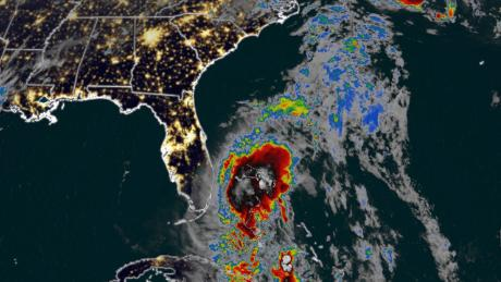 Florida feels first rains and winds from Tropical Storm Isaias