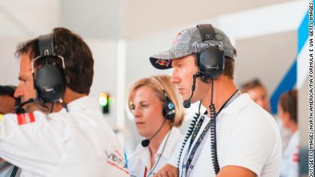 หัวหน้าทีม Venturi Racing Susie Wolff เฝ้าดู New York E-Prix ในเดือนกรกฎาคม 2019