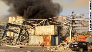 Live updates: Lebanon explosion rocks capital city Beirut