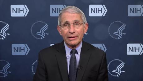 Fauci says he was in surgery when the task force discussed CDC testing guidelines