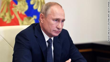 Russian President Vladimir Putin announced the approval of the Sputnik-V vaccine during a teleconference meeting with members of his government on August 11, 2020.