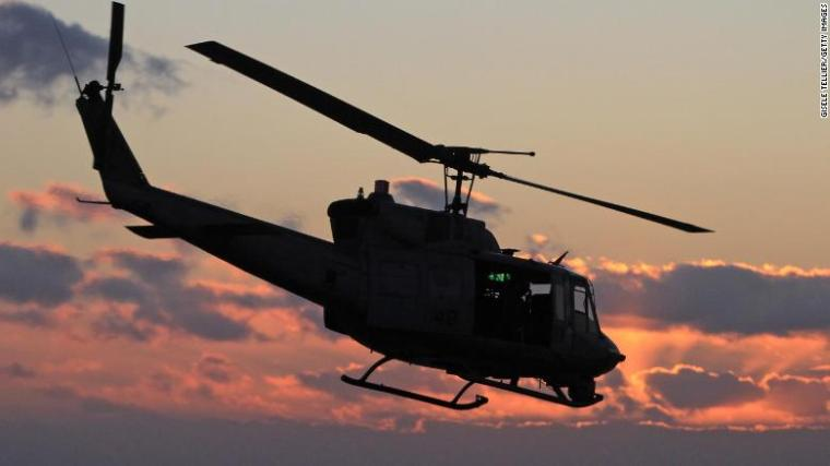 an-air-force-helicopter-was-fired-upon-from-the-ground-while-flying-over-virginia-usa