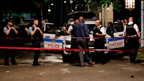 Shootings across US amid continued summer surge in gun violence