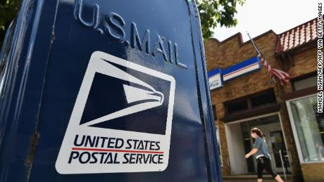 On time delivery of first-class mail, which contains ballots, plummets
