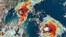 Gulf Coast Prepares for Double Trouble as Tropical Storms Marco and Laura Surge to Make Landfall