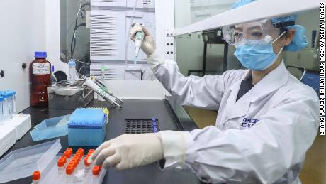 China says it has been vaccinating doctors and border personnel since July