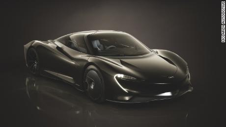McLaren's Speedtail is one of two hybrids previously launched by the carmaker.