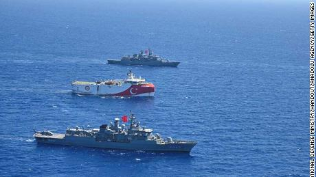 NATO allies are facing a bandh in the eastern Mediterranean Sea.  Conflict can engulf the entire region