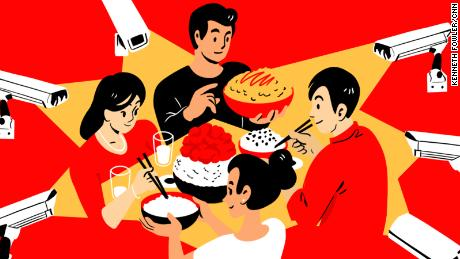 In authoritarian China, eating freely is a cherished activity. Now a food waste campaign wants to control meals, too