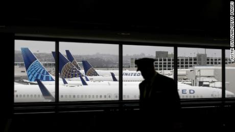 The airline industry could shrink by half to survive, United Airlines chairman says