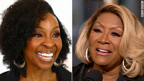 It was the battle of the divas when Gladys Knight (left) and Patti LaBelle appeared on Verzuz.
