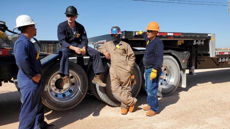 Slumping energy prices translate to layoffs and bankruptcies for Texas oil country
